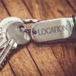 Schlüssel einer Veranstaltungslocation